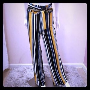 Pants - Striped pants size large